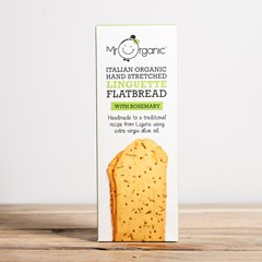 Mr Organic Linguette Flatbread, Rosemary