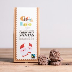 Organic Chocolate Santa Claus