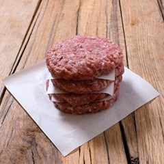 Pork & Apple Burgers | Organic Pork