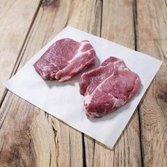 Organic Pork Collar Steaks