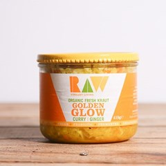Raw Curry & Ginger Fresh Kraut | Organic Raw Slaw