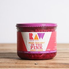 Raw Ginger & Lemon Fresh Kraut | Organic Raw Slaw