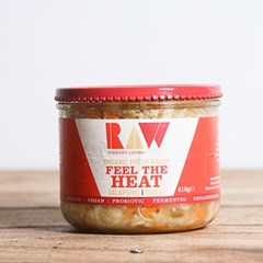 Raw Jalapeño & Chilli Fresh Kraut | Organic Raw Slaw