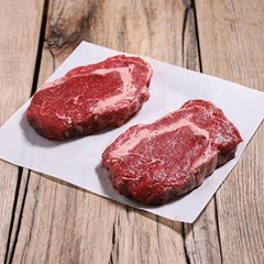 28 Day Dry Aged Beef Rib Eye Steaks | Organic Grass Fed Beef