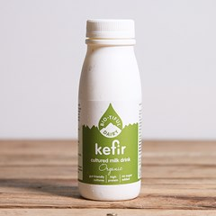 Organic Kefir, cultured milk drink