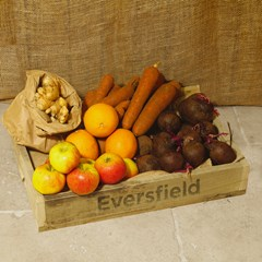 Small Vegetable and Sometimes Fruit Juicing Box   Organic Vegetable Boxes