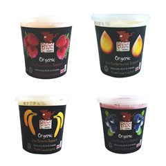 Brown Cow Organics Children's Yoghurt Variety (4 x 145g) | Organic Yoghurt and Dairy