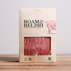 Roam & Relish, Unsmoked Back Bacon | Organic Pork Roam & Relish