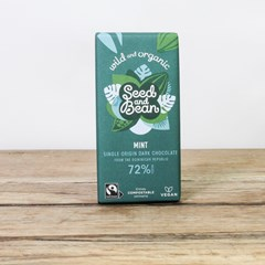 Seed & Bean Extra Dark 72% Chocolate - Mint