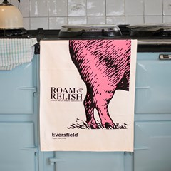 "Roam & Relish ""Boris"" Tea Towel - Limited Edition"