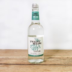 Twelve Below Apple & Garden Mint Tonic Water | Organic Drinks