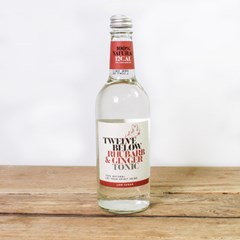 Twelve Below Rhubarb & Ginger Tonic Water | Organic Drinks