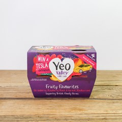 Yeo Valley Fruity Favourite Yogurts | Organic Dairy