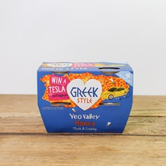 Yeo Valley Greek & Honey Yogurts | Organic Dairy
