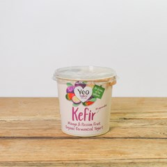 Yeo Valley Mango & Passion Fruit Yogurt Kefir | Organic Dairy