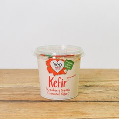 Yeo Valley Strawberry Yogurt Kefir | Organic Dairy