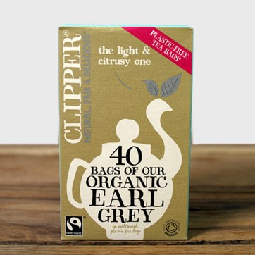 Clipper Earl Grey Tea Bags x 40
