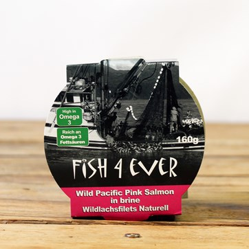 Fish4Ever Wild Pacific Pink Salmon in Brine