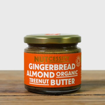 Nutcessity Gingerbread & Almond Butter