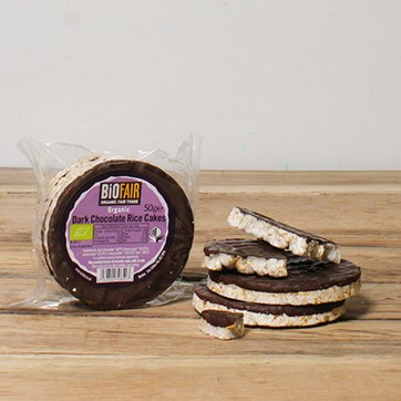Biona Dark Chocolate Rice Cakes