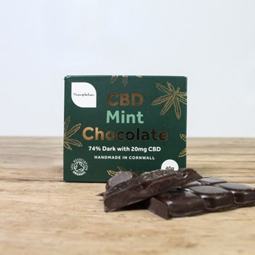 Themptation CBD Dark Mint Chocolate