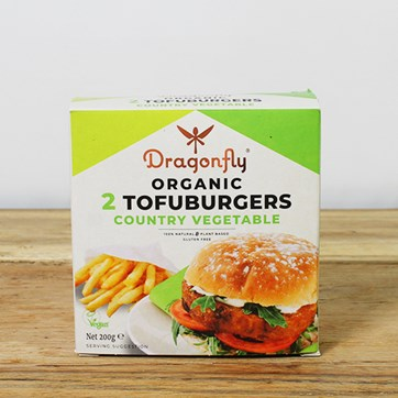 Dragonfly Country Vegetable Burger