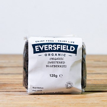 Eversfield Organic Dried Blueberries