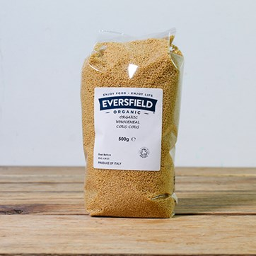 Eversfield Organic Wholemeal Cous Cous