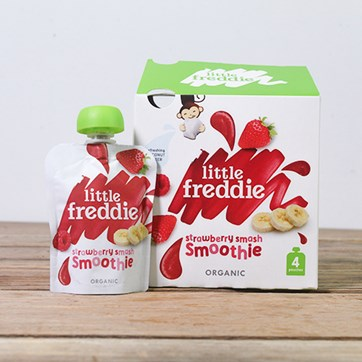 Little Freddie Strawberry Smash Smoothies