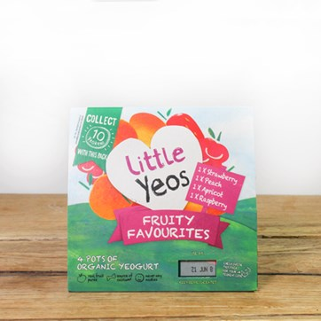 Yeo Valley Little Yeo Fruity Favourites