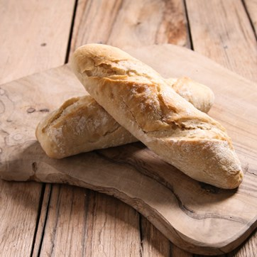 French Country Demi Baguettes, Part Baked