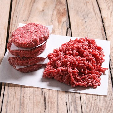 Beef Steak Burger Mix