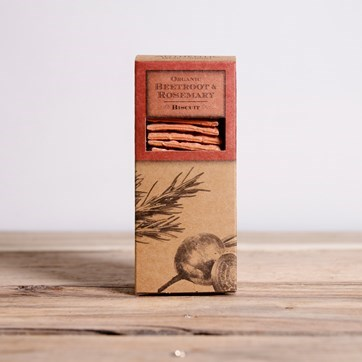 Authentic Bread Co. Beetroot & Rosemary Biscuits