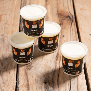 Brown Cow Ginger Yoghurts (4 x 145g)