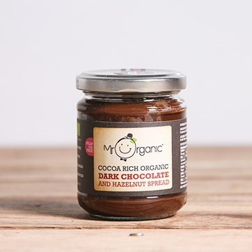 Mr Organic Dark Chocolate Spread