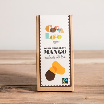Dark Chocolate Coated Mango