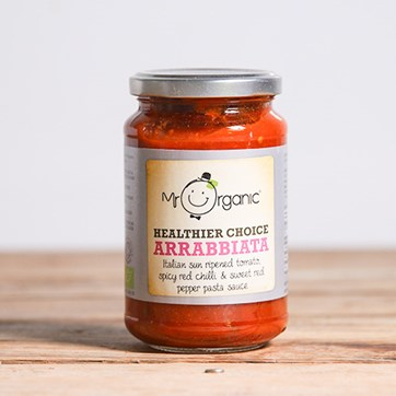 Mr Organic Chilli Arrabiata Pasta Sauce