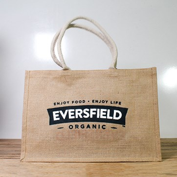 Eversfield Organic Hessian Bag
