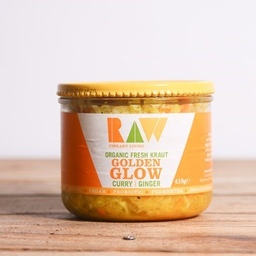 Raw Curry & Ginger Fresh Kraut