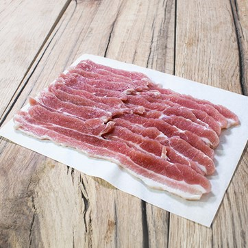 Roam & Relish Rindless Streaky Bacon