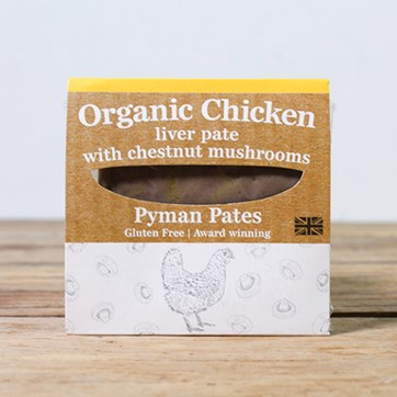 Pyman's Chicken Liver Pâté with Chestnut Mushroom