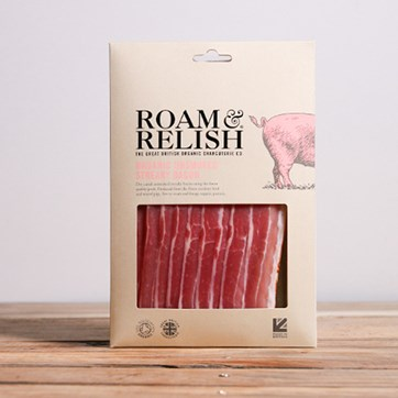 Roam & Relish, Unsmoked Streaky Bacon