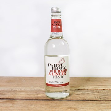 Twelve Below Rhubarb & Ginger Tonic Water