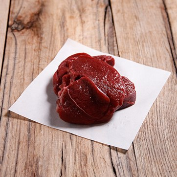 Wild Venison Steaks, Previously Frozen