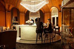 gastronomic restaurant les fresques 5 star hotel royal evian france europe. Black Bedroom Furniture Sets. Home Design Ideas