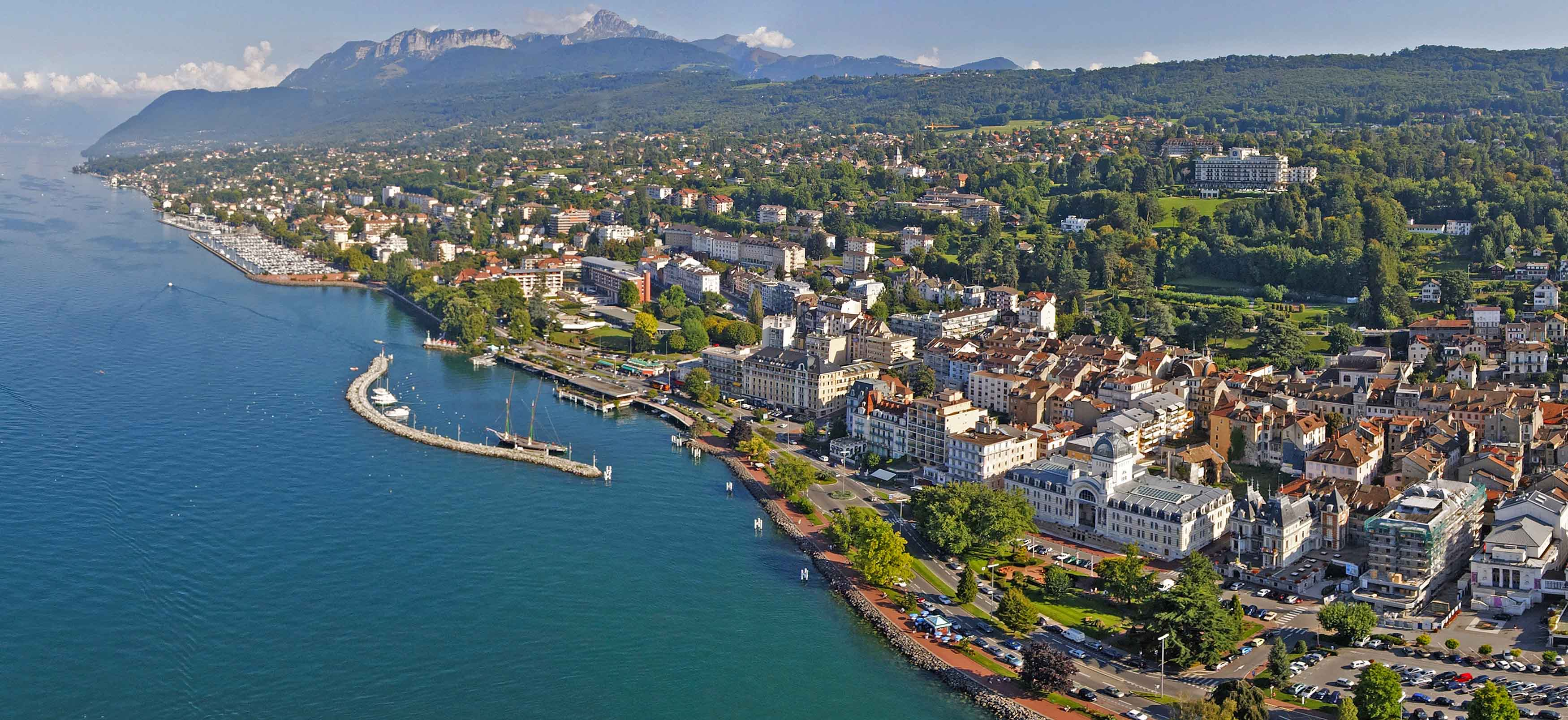 Evian destination