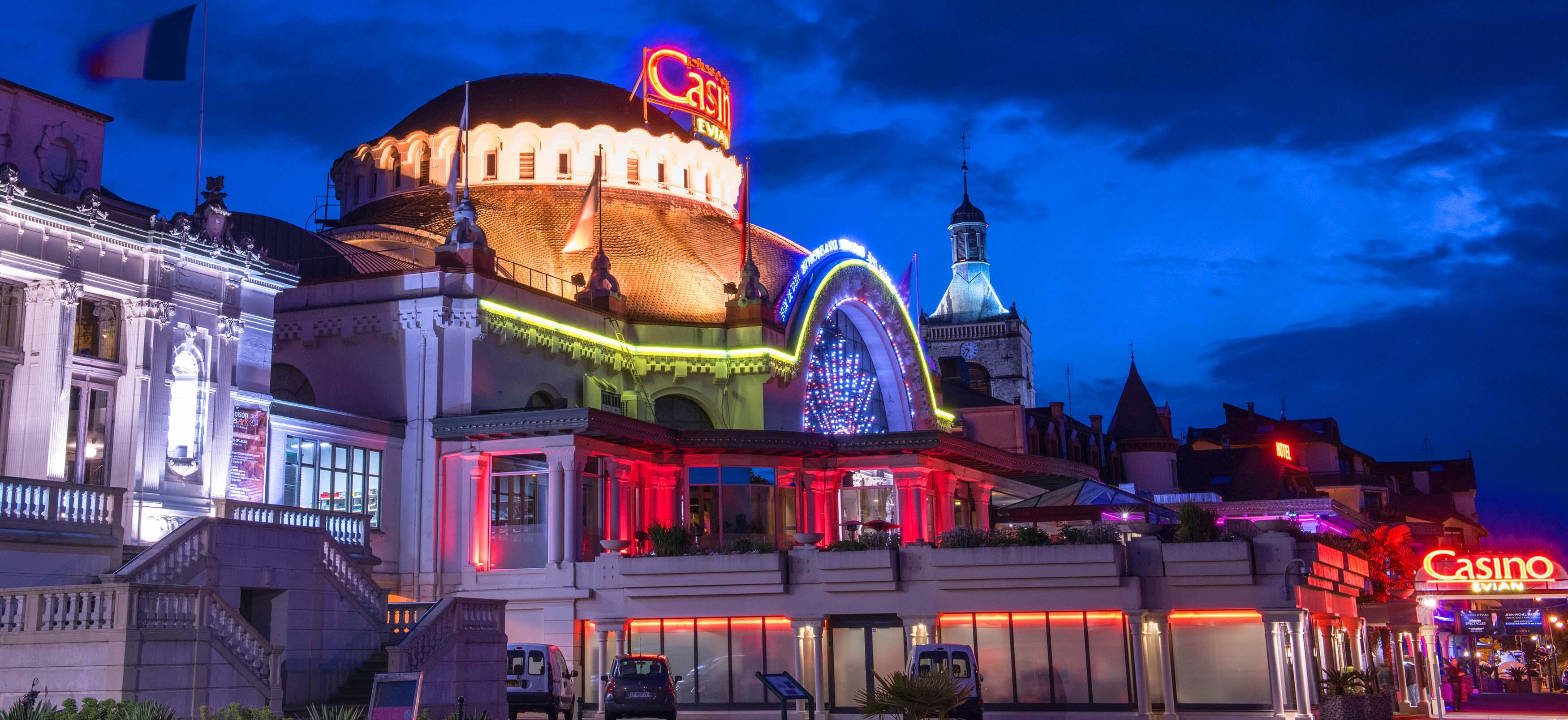 Casino Evian Les Bains Poker Roulette Et Machines A Sous