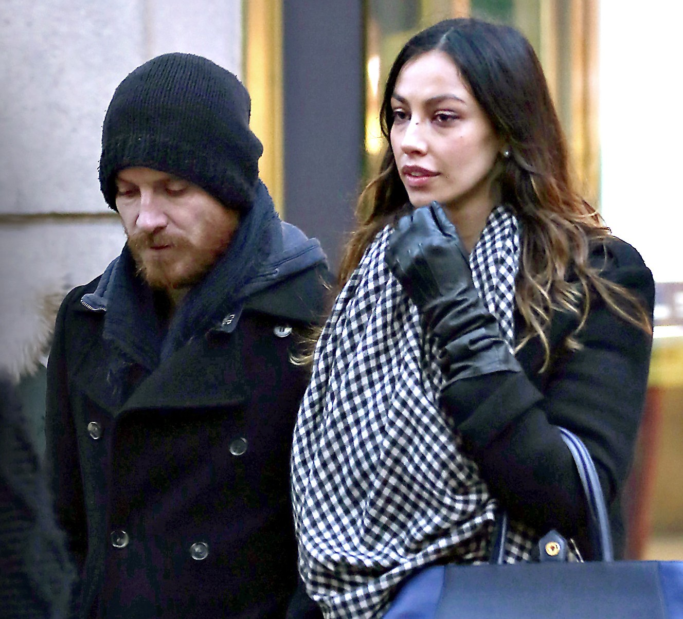EXCLUSIVE: Michael Fassbender is seen with his rumored new ... Michael Fassbender Girlfriend