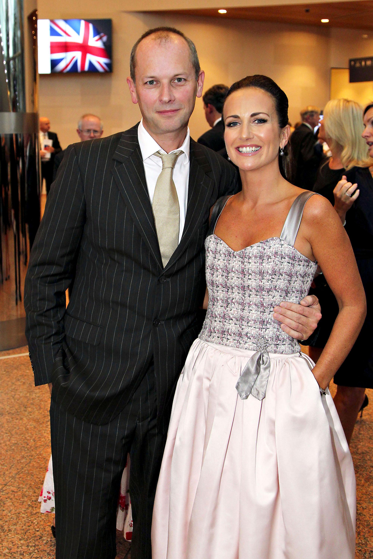 Lorraine with husband, Peter Devlin