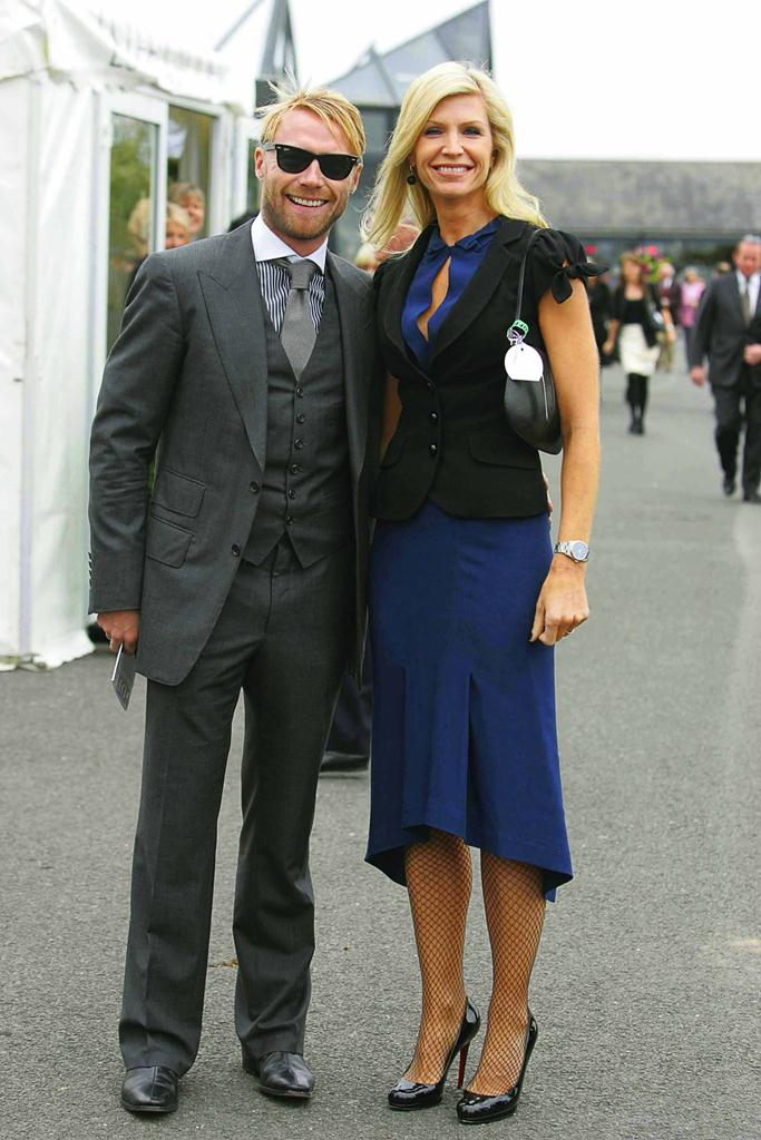 Star couple: Ronan Keating and Yvonne